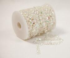 DIAMOND CRYSTAL BEADS GARLAND 20 METER CAKE DECORATION WEDDING CRAFT JEWELLERY