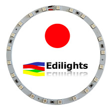 MODULO A CERCHIO 21 LED SMD 5050 RING 140MM/124MM 12V LUCE ROSSA RED