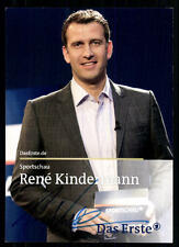 Rene Kindermann Sportschau Autogrammkarte Original  Signiert ## BC 31424