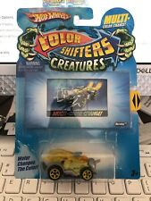 HOT WHEELS COLOR SHIFTERS CREATURES BUZZKILL W+