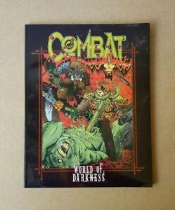 World Of Darkness Combat RPG Sourcebook White Wolf Games WW3206 Vintage 1996