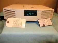 New listing Bose White Wave Radio Awr1-1W-Refurbished with service ticket shown W/Remote