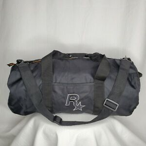 NEW Grand Theft Auto IV Limited Edition Rockstar Gold Lined Duffle GTA4 Gym Bag