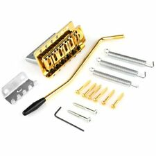 Electric Guitar ST Gold Tremolo Bridge for Fender Strat Replacement High Quality