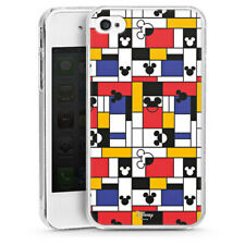 Apple iPhone 4s Handyhülle Hülle Case - Mickey Squares