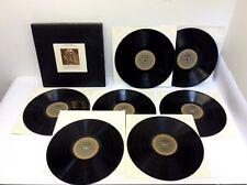 Beethoven The Nine Symphonies Leonard Bernstein New York Philharmonic Records