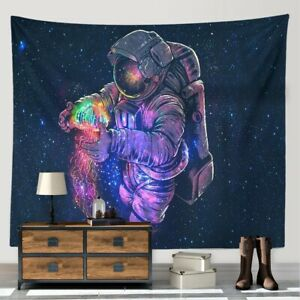 Art tapestry wall hanging astronaut