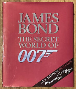 James Bond The Secret World of 007 New Ed incl Die Another Die Casino Royale HC