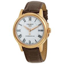 Tissot Carson Powermatic Rose Gold PVD Mens Watch T0854073601300