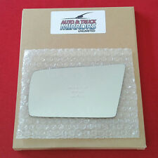 NEW Mirror Glass + ADHESIVE 97-00 MERCEDES Driver Left Side AUTO DIM FIT OVER
