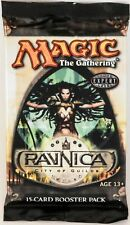 Magic Mtg Ravnica City Of Guilds Factory sealed Booster Pack X 3 !
