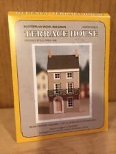 HO/OO Scale Masterplan Model Buildings TERRACE HOUSE Kit - RARE htf - US SELLER