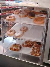 Self Serve Pastry donut display case 3 trays deli bakery convenience store candy