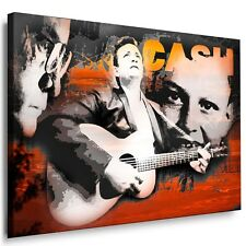 Druck auf Leinwand Johnny Cash Leinwandbild Wandbilder, Keilrahmenbilder Bilder