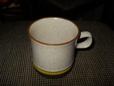 "Denby Potter's Wheel Gold Yellow 3 5/8"" Mug"