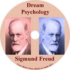Dream Psychology, Sigmund Freud Magnum Mind Work Audiobook on 1 MP3 CD Free Ship