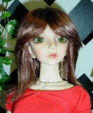 "Doll Wig, Monique Gold ""JoJo"" Size 4/5, Reddish Brown"