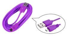 cavo dati USB trasferimento PC ~ Connessione Micro Universale ~ Viola ~ 3 metri