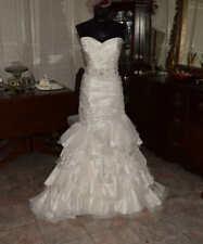 PALOMA BLANCA Bridal Gown Wedding Dress Size 12      REF: 4707979