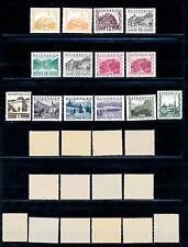 [55011] Austria Osterreich 1929 Landscapes Complete set MNH Original Gum