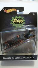 2016 Hot Wheels 1/50 Scale Classic TV Series Batmobile 1966 Diecast Vehicle