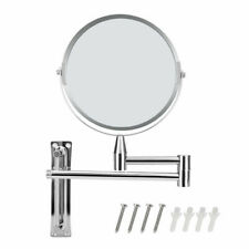 5X Magnifying Makeup Mirror Wall Mounted Hotel Bathroom Makeup Mirrors 7 inch