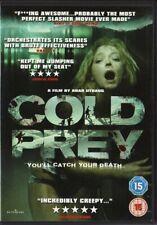 COLD PREY - UK DVD REGION/ZONE 2 BON ETAT  VIEWED ONCE