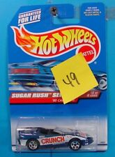 C49 HOT WHEELS SUGAR RUSH SERIES 1995 CAMARO NESTLE CRUNCH #743 NEW ON CARD