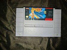 Star Fox (1993) Super Nintendo Snes Authentic (Tested)