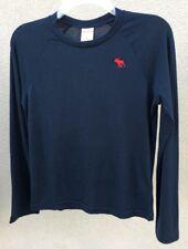 ABERCROMBIE KIDS BOYS Shirt NWT Size LARGE black NEW Long sleeve