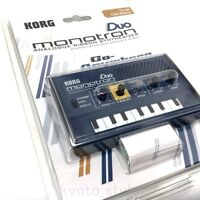 KORG Monotron Duo Analog Ribbon Synthesizer 2VCO 1VCF From Japan