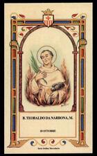 santino-holy card B.TEOBALDO DA NARBONA M. mercedario