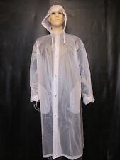 Regenmantel,Regen,Soft- PVC Mantel,Regenschutz ,Regenbekleidung,Größe XXL
