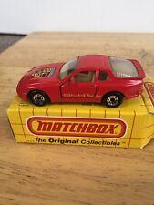 MATCHBOX MB71 PORSCHE 944 TURBO New In Box- 1987 Thailand