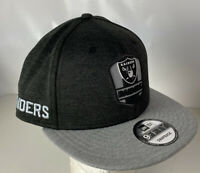 Las Vegas Raiders Hat Cap 9FIFTY Sideline Snapback NEW Logo Spellout Official