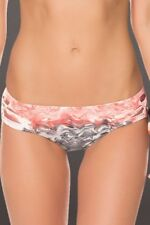 NEW BECCA Cosmic Side Slashed Hipster Tie Dye Bikini Swim Bottom M Medium