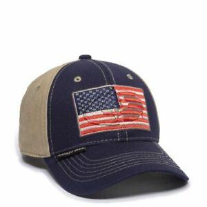 CAP - USA FLAG HAT NAVY/KHAKI MOFS37A 43024