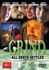 The Grind DVD- All Debts Settled MOB MOVIE THRILLER - REG 4