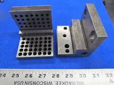 "Angle Plates (2) 3"" x 3"" x 3""    Z-040-4"