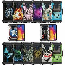 For LG V40 / LG V40 ThinQ Triple Layer Case - Cool Designs