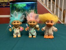 Russ Troll Easter Lot Of 3 Duck Egg Painters