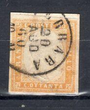 sardegna IV em. 80 cent usato (diena)
