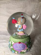 Collectable Precious Moments Water Globe/Music Box (Sending All My Love To You)