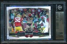 2014 Topps Chrome Refractor #94 Matt Ryan BGS 9.5