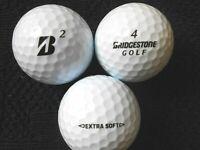 "10 BRIDGESTONE  ""EXTRA SOFT"" Golf Balls - ""MINT/PEARL"" Grades."