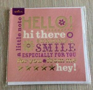 Female Blank Card & Envelope,,New By Hallmark