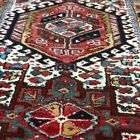 3' x 11' Antique Multi colored  Hand-knotted wool Karaja runner