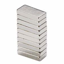 10pcs Super Strong N52 Cuboid Magnet Block Rare Earth Neodymium Magnets 10x5x2mm