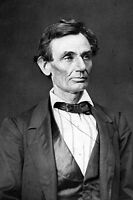 "New 5x7 Photo: Presidential Candidate Abraham Lincoln in 1860, ""Honest Abe"""