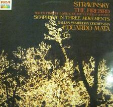 Stravinsky(Vinyl LP)The Firebird-RCA- GL 84306 -Italy-Ex/M